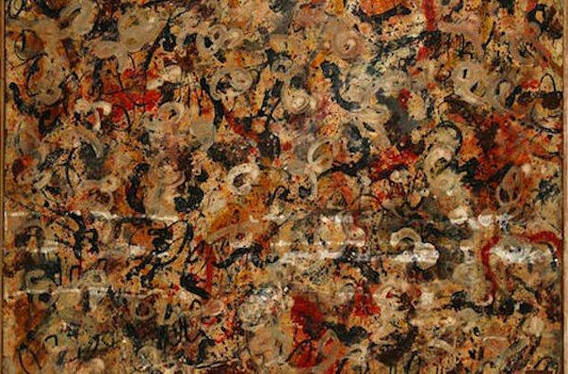 10 milyon dolar değerindeki Jackson Pollock tablosu Arizona'da bir çatı katı dairesinde bulundu.