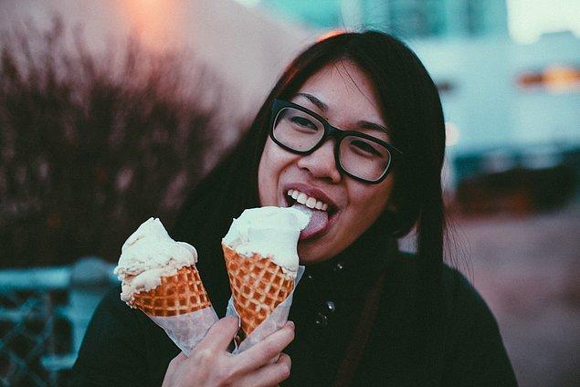 1. Vanilyalı Dondurma