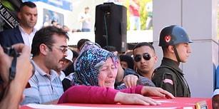 PKK Tarafından Şehit Edilen Necmettin Öğretmen Son Yolculuğuna Uğurlandı...