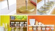 25 Akıllıca Mutfak Depolama Çözümleri