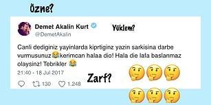 Demet Akalın'ın Türkçe'yi İnim İnim İnlettiği Paylaşımına Gelen 15 Komik Tepki