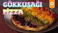 Sebze Sevmeyenleri Kendine Aşık Edecek Rengarenk Gökkuşağı Pizza Nasıl Yapılır?