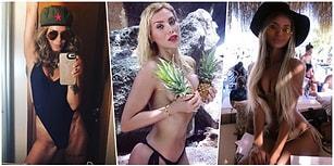 Kimseye Aldırmadan Yazın Tadını Çıkartan ve Güzellikleriyle Büyüleyen 22 Türk Ünlü