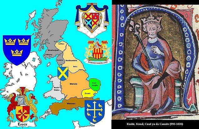 1. Anglo-Sakson İngiltere ve Knut'un Büyük Ülkesi