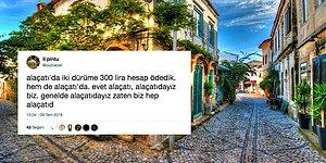 Tatilcilerin Favori Yazlık Mekanı Alaçatı'dan İnsanın Tansiyonunu Oynatan Yemek Hesapları