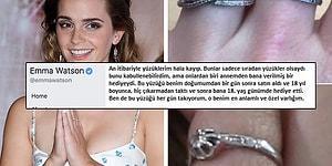Emma Watson Kaybolan Ana Yadigârı Yüzüğünü Bulmak İçin Hayranlarından Yardım İstiyor!