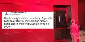 'Cami Neden Kapalı' Diyen Eski Belediye Başkanı Fatma Görgen'e Çankaya Belediyesi'nden 'İmalı' Yanıt!