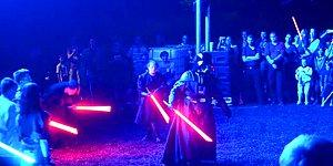 Star Wars'un Işın Kılıçlarına Owen Wilson'ın Efsane Tepkisi 'Wow' Sesi Eklenirse!