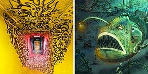 Yurt Duvarlarını, Boyamaları İçin Graffiti Sanatçılarına Açan Bu Okula Hayran Olacaksınız!