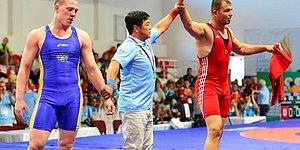 İşitme Engelliler Olimpiyatları'nda Minderi Rakibine Dar Eden İhan Çıtak, Altın Madalya Kazandı!
