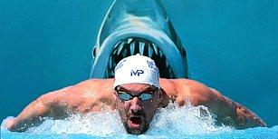 Michael Phelps'in Köpek Balığıyla Yarışması