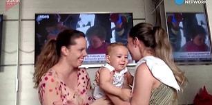 Annesinin İkiziyle Tanışan Ufaklığın Kafasının Karıştığı Anlar