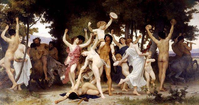 O dönemde Romalılar'da ve Yunanlar'da toplum 2 katmandan oluşuyordu. Bu iki katman soylular ve kölelerdi