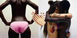Kadınların Bedensel Değişimlerini Güzellik Olarak Yansıtmak İçin Renkleri Kullanan Sanatçı