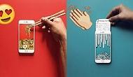 iPhone'uyla Olağanüstü Optik İllüzyonlar Yaratıp Gerçekliğin Altını Üstüne Getiren Sanatçı