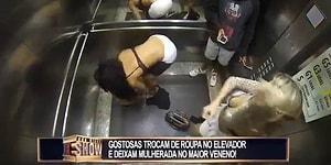 Kadınlardan, Asansörde Kıyafet Değiştirme Şakası
