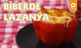 Lazanyanın En Güzel En Lezzetli Hali: Biberde Lazanya Nasıl Yapılır?