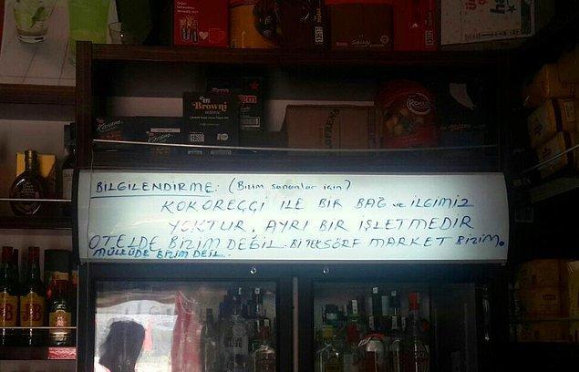 """Alaçatı'nın bütün sahibini Sörf Market sananlar için önemli bilgilendirme: """"KOKOREÇÇİ BİZİM DEĞİL, OTEL DE BİZİM DEĞİL"""""""