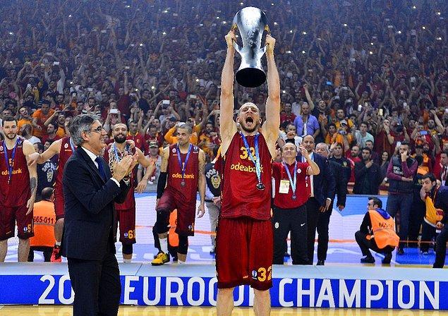11. Galatasaray'ın Eurocup ile  çıtayı bir adım daha yukarı taşıması.