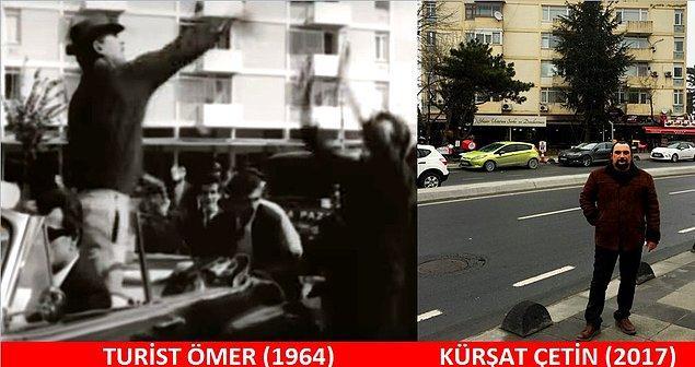 22. TURİST ÖMER (1964) Turist Ömer, bankadan aldığı reklam paralarını dağıtmak üzere Levent'e gelir...