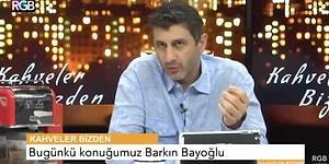 'Altın Elbiseli Adam' Barkın Bayoğlu: 'Hepiniz Öleceksiniz Arkadaşlar'