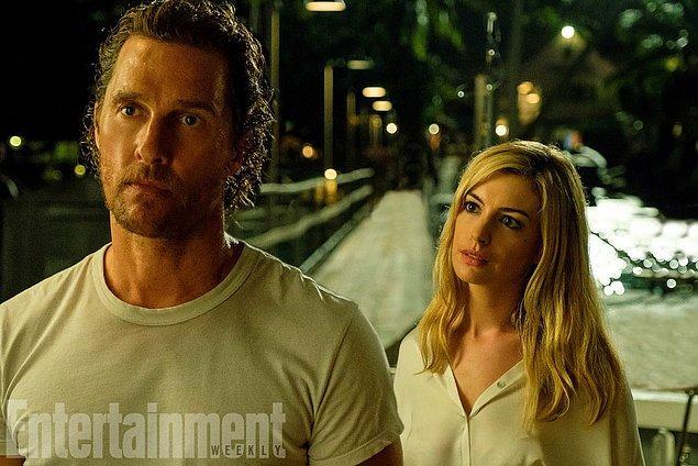 5. Anne Hathaway ve Matthew McConaughey'in Interstellar'dan sonra yeniden bir araya geleceğinden geçen hafta bahsetmiştik, bu filmden ilk kare geldi.
