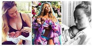 Anne Baba Olmanın Heyecanını İçinde Tutamayıp Bebeklerinin İlk Fotoğrafını Paylaşan 23 Ünlü