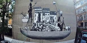 Sokakları Sergi Alanına Çeviren Mural İstanbul Fest'in Sanat Eserine Dönüştürdüğü 20 Duvar