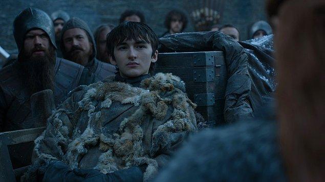 Bu sahnede de Bran ve Sansa buluşuyor.