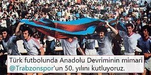 Türk Futboluna Anadolu'nun Gücünü Gösteren Trabzonspor 50 Yaşında!