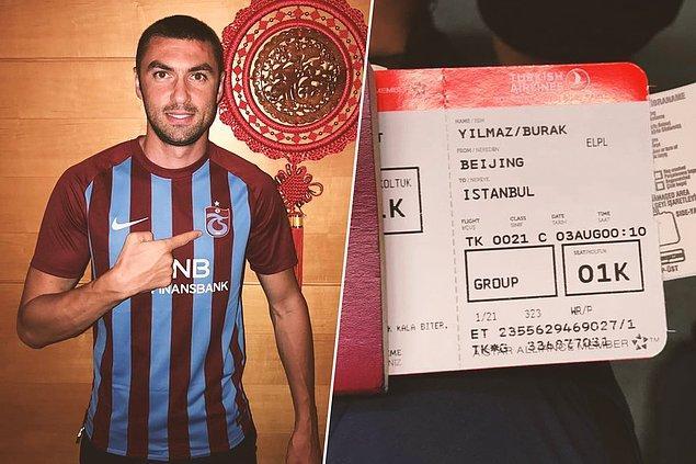19. Burak Yılmaz ➡️ Trabzonspor