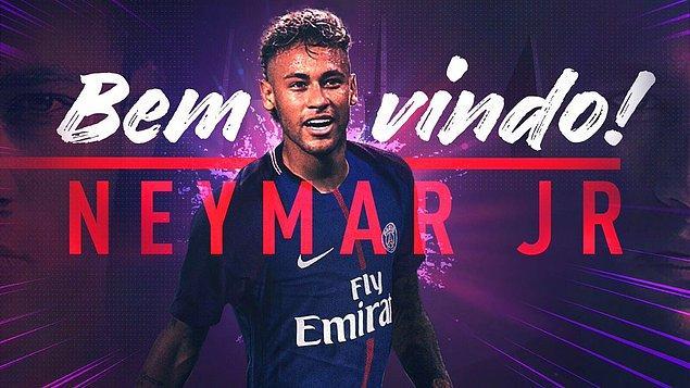 18. Neymar ➡️ PSG