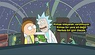 """İzleyeni Derin Düşüncelere Salan Dizi """"Rick and Morty""""den 13 Çarpıcı Hayat Dersi!"""