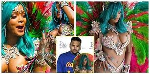 Kaçan Balık Büyük Olur Chris! Yeni Tarzıyla Barbados'u Sallayan Rihanna Ex Aşkını Sallamadı