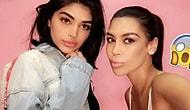 Kylie Jenner ve Kim Kardashian'ın Paralel Evrendeki Versiyonu Gibi Görünen Kız Kardeşler