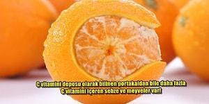 En Büyük C vitamini Kaynağı Portakal mı Sanıyorsunuz? C Vitamini Deposu 12 Besin