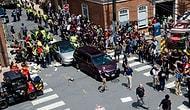 ABD'de Irkçılık Karşıtı Gösteri Yapan Grubun Üzerine Araç Daldı
