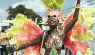 Rihanna'nın Memleketi Barbados'un Ünlü Sokak Karnavalından Hepsi Birbirinden Renkli 21 Kostüm