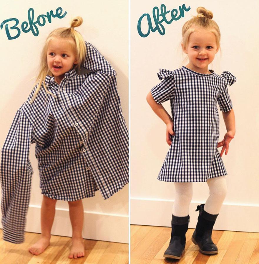 004ece4bd80d2 Nasıl oyuncak yapacağını öğrendikten sonra, YouTube'daki videoları  izleyerek elbise dikimini öğrendi.