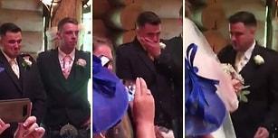 En Mutlu Gününde Evleneceği Kadını Beklerken Göz Yaşlarına Boğulan Damat