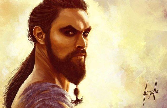 16. Taçsız kralımız Khal Drogo!