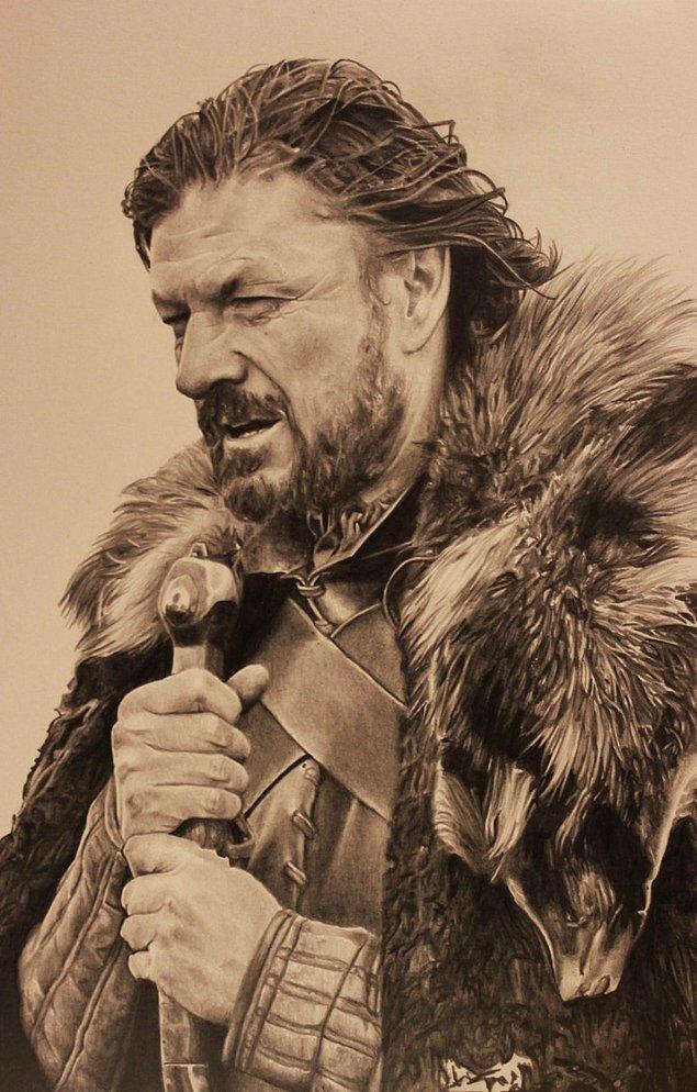 17. Stark hanesinin lideri, evrenin en büyük sırrını saklayarak ölen Ned Stark.