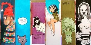 Kitap Ayraçlarına Yaptığı Sevimli Çizimlerle Eğitim Masrafını Karşılayan Siyabend'le Tanışın!