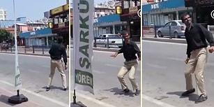 Adana'da Sıradan Bir Gün: Yolun Ortasında Dans Eden Adam