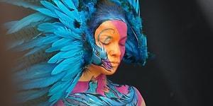 Sanatın Hem Akılları Hem Gözleri Kamaştırdığı Dünya Vücut Boyama Festivalinden 24 Çalışma