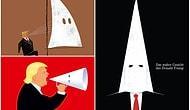 Üç Dergi Peşi Sıra Kapağa Taşıdı: Trump ve 'Ku Klux Klan' Külahı