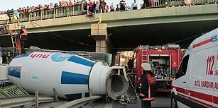 Burası İstanbul: Dikkat! Üzerinize Beton Mikseri Düşebilir...