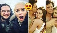 Emilia Clarke ve Kit Harington'un Görünce Kıskançlıktan Çatlayacağınız 18 Tatlış Anı! 😍