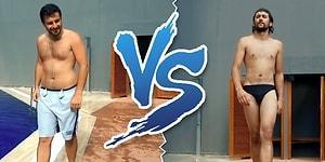 Slip Mayo Giyen Erkek vs Şort Mayo Giyen Erkek