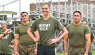 O Şimdi Asker! Kate Upton, Amerikan Deniz Piyadeleriyle Eğitime Çıktı